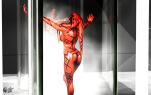 Steam Room - Darth Talon by darthhell