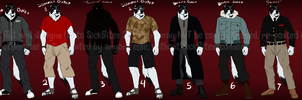 Mustafa Rashed Reference - Clothes/Outfits 2015 by xAcidicCanine