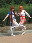 Kasumi cosplay player one and two. by lilburi4ever