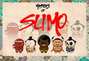 Master of Sumo (serie 1) by BrainBlueArts