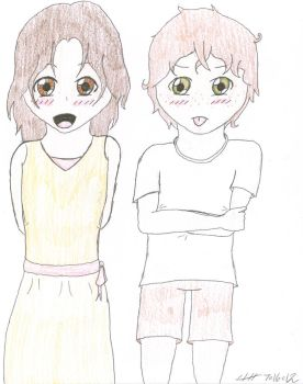 Annabeth and Antonio by GermanyItaly