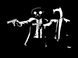 Adventure Time x Pulp Fiction by RobCham