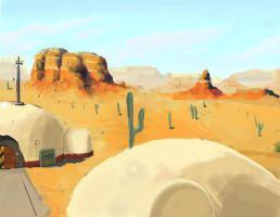 Wasteland Homestead by Tchuron