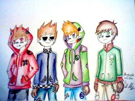 Eddsworld: Matryoshka by amythystanime