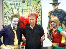 me ARTHUR SUYDAM and her by JokerNH