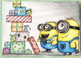 Despicable birthday by 3PenProblem