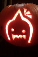 My adorable Alphonse pumpkin by Hayatestar