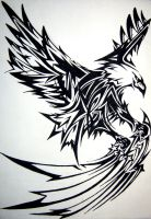 Eagle Tat by wantonlemonade