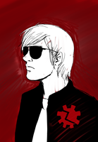 Homestuck: Dave Strider in Time by Kryru