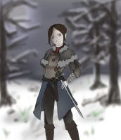 An Older Arya by fistsofthedemigod