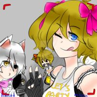 But first, let's take a selfie by hetakul0id
