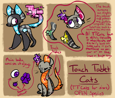 Touch Tablet Cats - Open Species by Taiinty