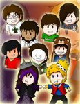 My Favorite YouTubers by Abi-Chan14