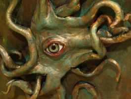 Lovecraftian Grimoire 10 by NomadStudioDesigns