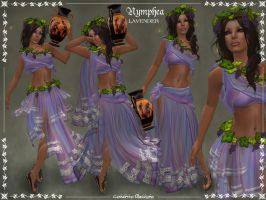 Nymphea Outfit -LAVENDER- by Elvina-Ewing