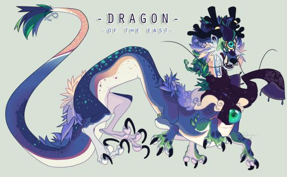 Dragon of the East pt 2 by Sindonic