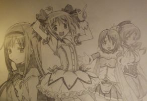 Magical Girls by Jailboticus