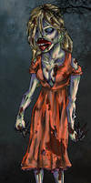 Zombie In The Woods by Shadowstar