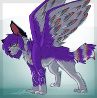 She Has Wings To Fly: Art Trade by Woods-Of-Lynn