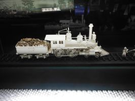Ivory Carving of 119 by SteamRailwayCompany