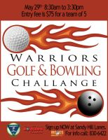Warrior Golf and Bowling by VarukaBlue