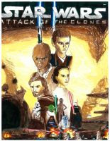 Star Wars II Attack of the Clones first pic. by simpsonsquire