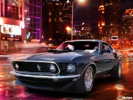 69 Mustang by sonic