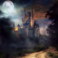 Dark And Spooky Castle by MataHari22