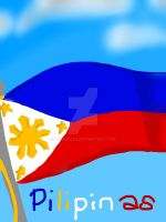 Philippine flag by Dhanica02