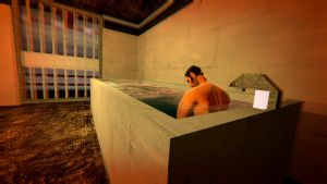 Taking a Bath in Jail by YureiOfSanity
