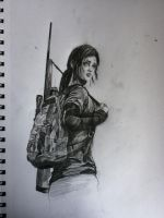 The Last of Us: Ellie by TakuaNui