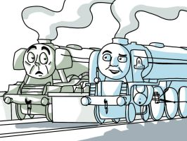 Not the only one Scotty.! by Caledonian-Railsmith