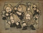 Amon Amarth by lllaria