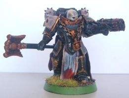 Furious Angels Chaplain by ncodb