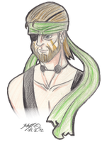 Naked Snake by TariToons