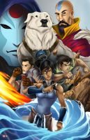 Legend of Korra by TyrineCarver