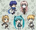 Vocaloid Chibis by nyuhatter