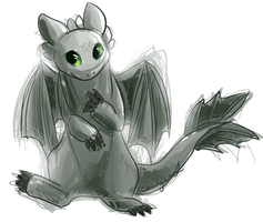 toothless by CascadingSerenity