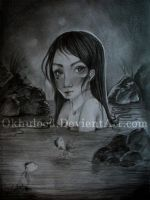 The Queen of My Secret Lake by OKhulood