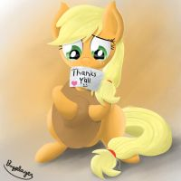 Applejack's appreciation for October by Bugplayer