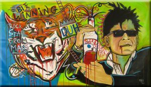 Charlie Sheen on Tiger Blood by Raeart2011
