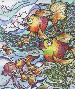 fishes by laudia