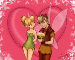 Tinkerbell and Terrence by ArbitraryJane