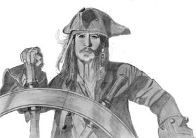 Captain Jack Sparrow 2006 by elodie50a