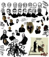 Wesker randomness by Thevakien