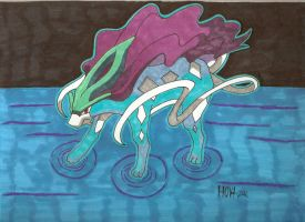 Pokemon Suicune by Davidbatmanfan