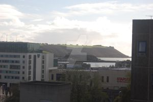 view over plymouth by Saldyn