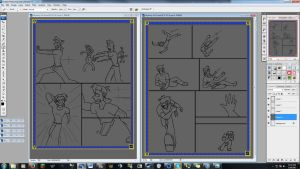 SkyArmy Origns WIP Pages  4-5 by MidNight-Vixen