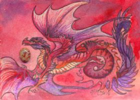 ACEO Dragon 32 by rachaelm5