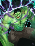 Rise of Hulk! by MattDeMino